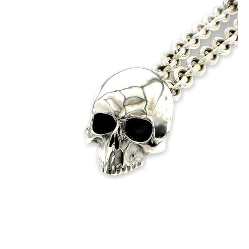 Large Skull Locket-Necklaces-Metal Couture-JewelStreet