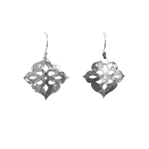 Thai Princess Drop Earrings In Sterling Silver ,[product vendor],JewelStreet
