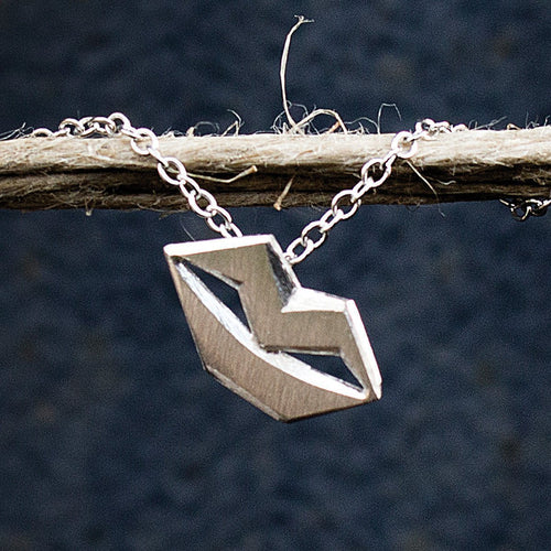 Unspoken Silver Necklace Small ,[product vendor],JewelStreet