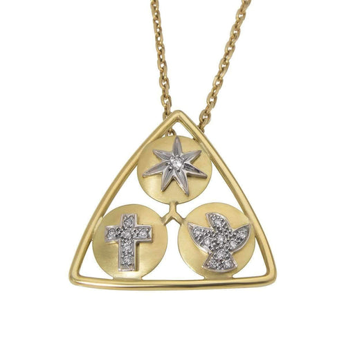 Holy Trinity Necklace ,[product vendor],JewelStreet