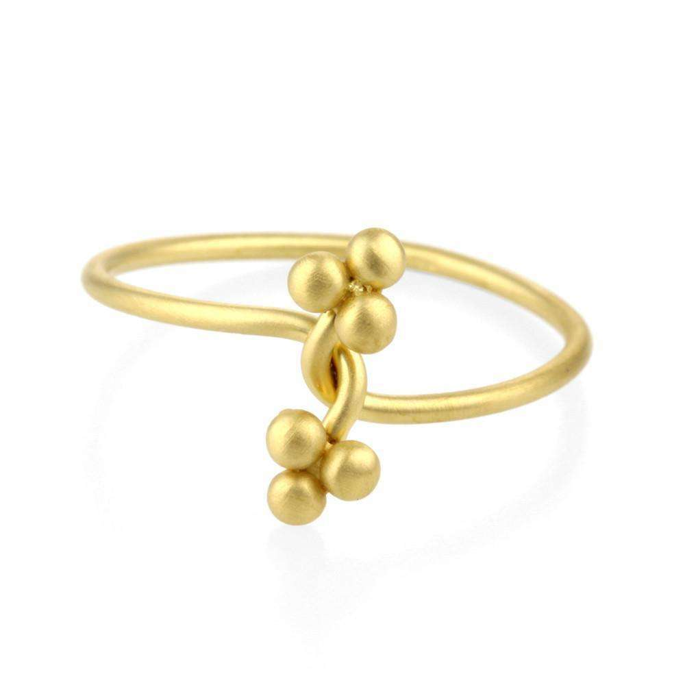 9kt Gold Sulis Twist Ring-Prism Design-JewelStreet US
