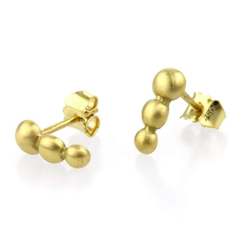 9kt Gold Sulis Studs-Prism Design-JewelStreet US