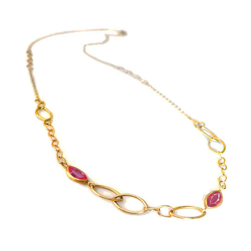 Cendiaire Oval Link Necklace