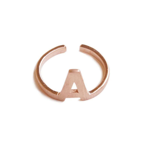 Alphabet - A Ring-ZLABA-JewelStreet US