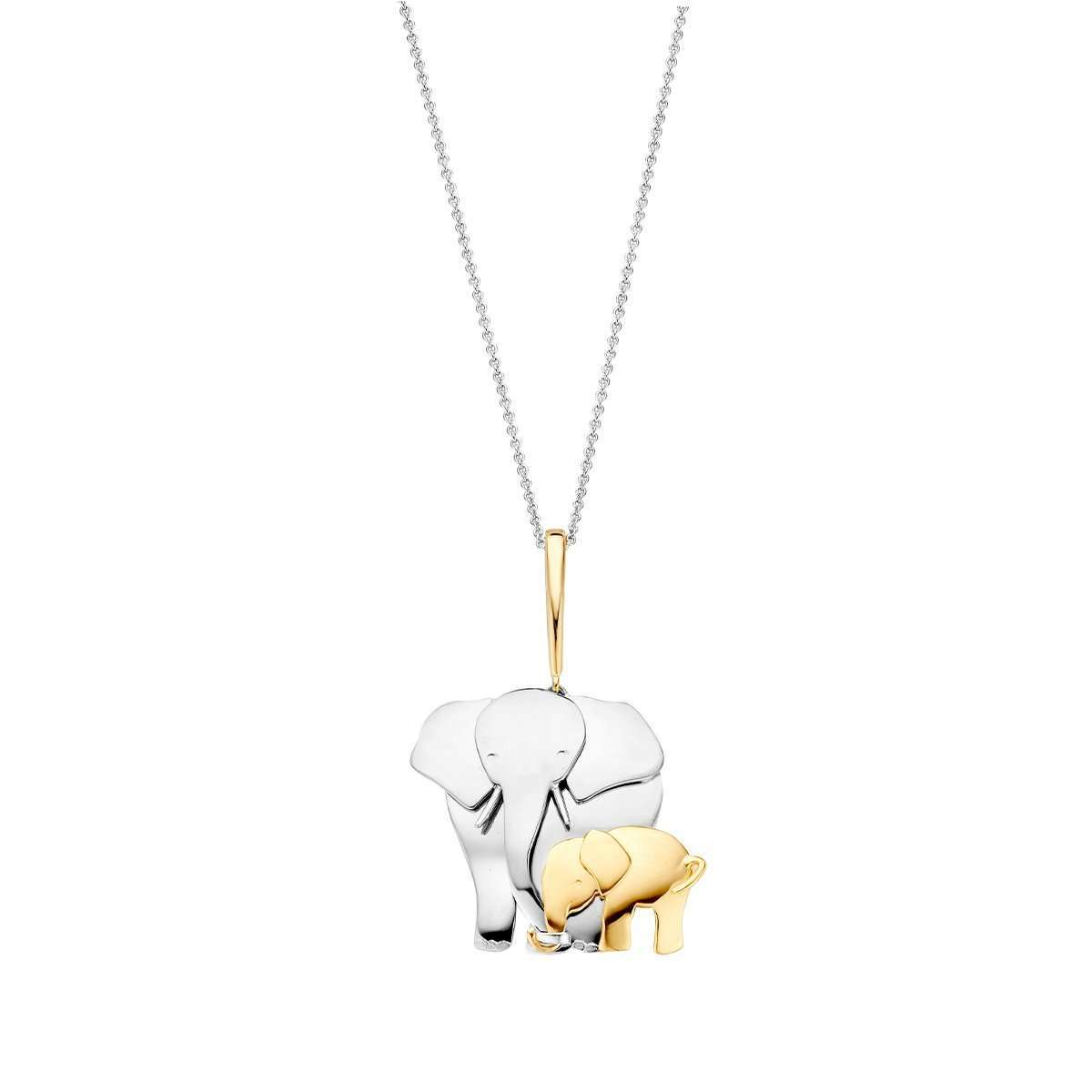 Elephant Pendant Necklace-Baskania-JewelStreet US