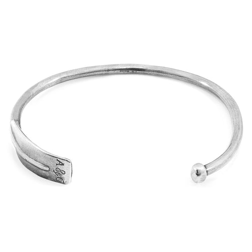 Paddle Navigation Silver Bangle ,[product vendor],JewelStreet