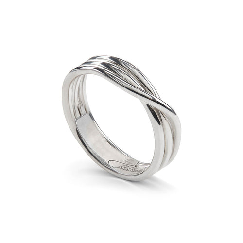 Sterling Silver Rock Argento 3 Ring ,[product vendor],JewelStreet