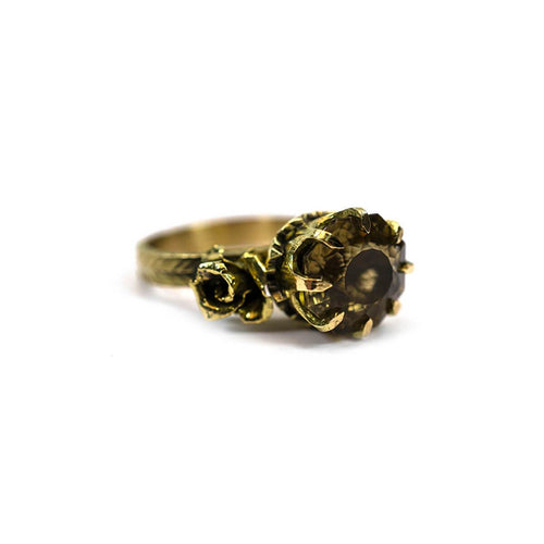 18kt Yellow Gold Ava Ring