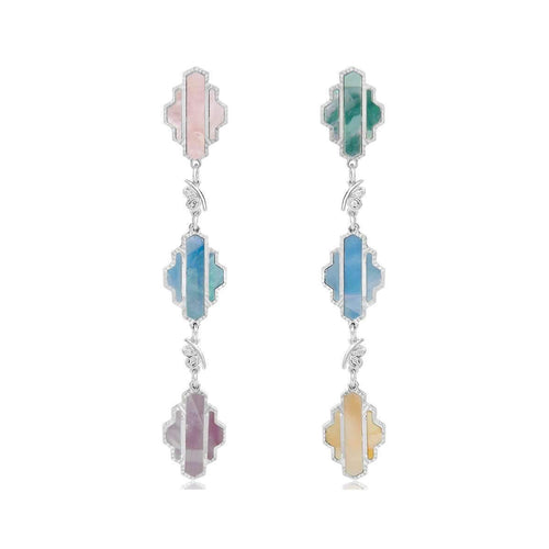 High Line Collection Earring Multi-colour ,[product vendor],JewelStreet