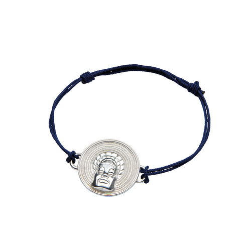 Sterling Silver Mangbetu Bracelet  ,[product vendor],JewelStreet