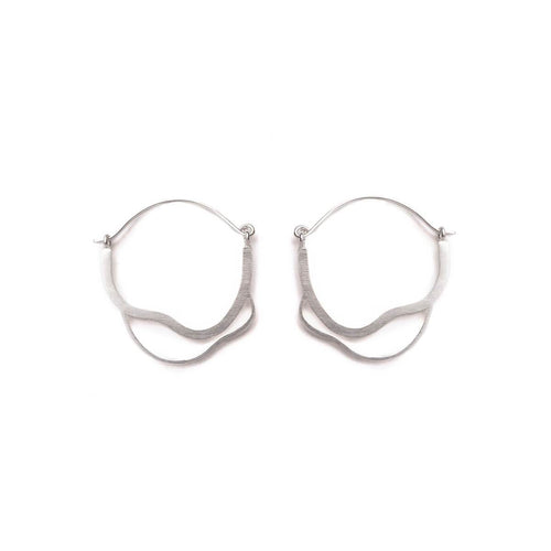 Silver Meatus Earrings ,[product vendor],JewelStreet
