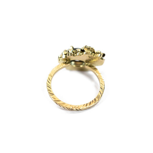 18kt Yellow Gold Bonnie Ring