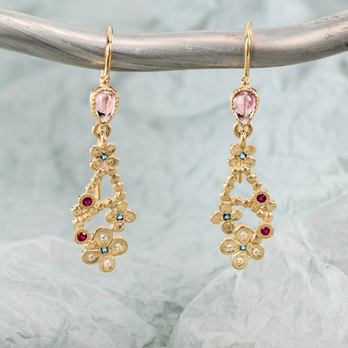 14kt Yellow Gold Chandi Earrings ,[product vendor],JewelStreet