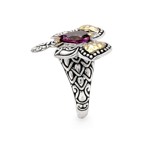 Gemstones Elephant Ring-Deni Jewelry-JewelStreet US