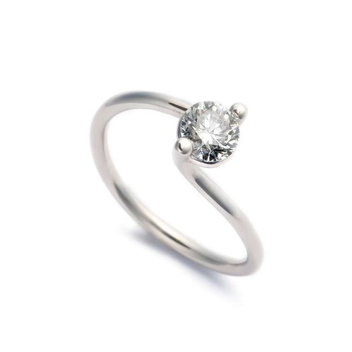 Harmony Ring For Right Hand - 0.75ct-Ehinger Schwarz 1876-JewelStreet US