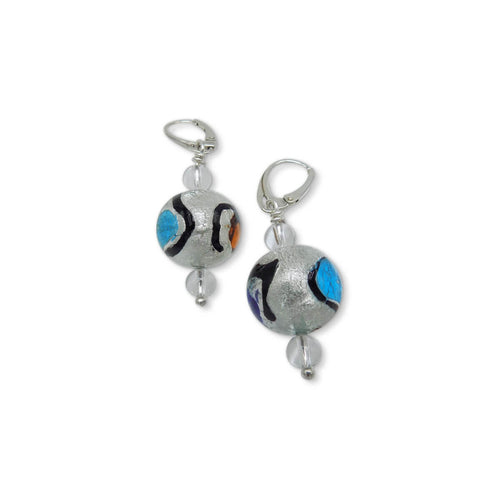 Murano Glass Bead Miró Joy Earrings  ,[product vendor],JewelStreet