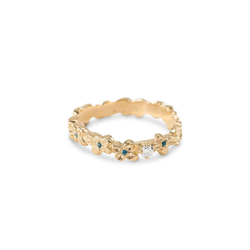 14kt Yellow Gold Fairy Circle Ring ,[product vendor],JewelStreet