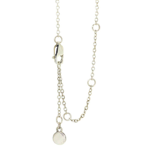 Sparkly Solo Necklace With White Topaz ,[product vendor],JewelStreet