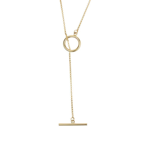 Yellow Gold Filled Isla Necklace