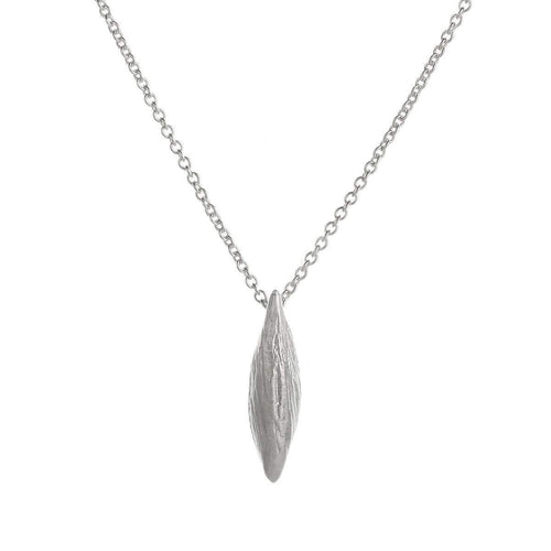 Leaf Necklace - Silver ,[product vendor],JewelStreet