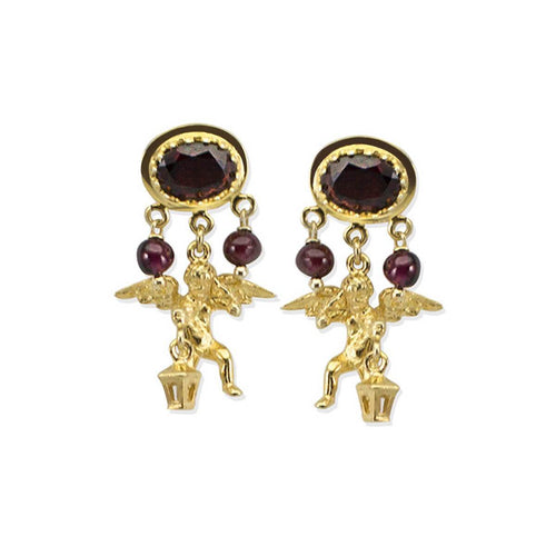 Cherubini Garnet Earrings