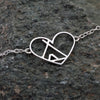 Sterling Silver Love The Outdoors Bracelet
