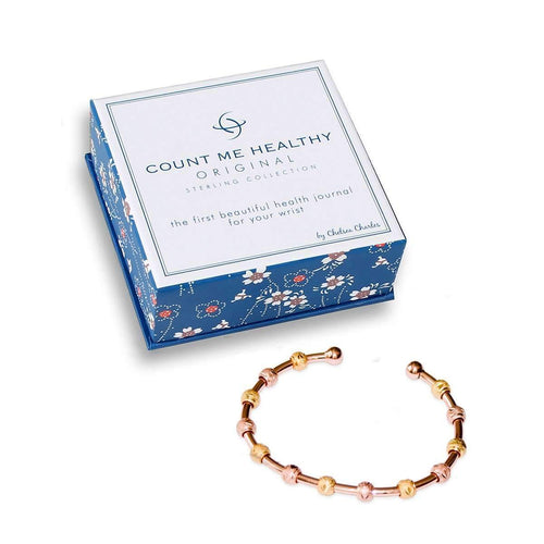 Laurel Rose Gold and Gold Two-Tone Bracelet ,[product vendor],JewelStreet