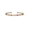 Laurel Rose Gold and Gold Two-Tone Bracelet-Chelsea Charles-JewelStreet US