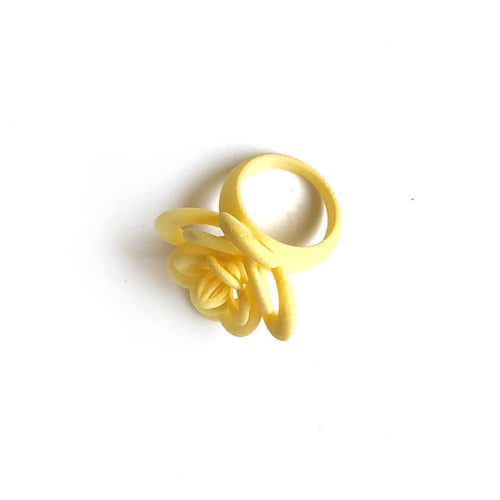 My Little Perfume Ring In Yellow ,[product vendor],JewelStreet