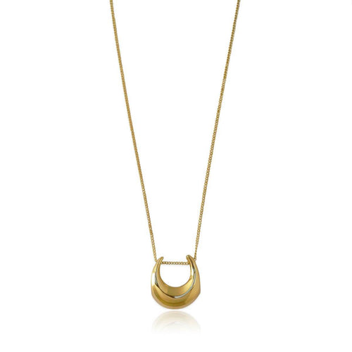 14kt Gold Plated Magna Necklace ,[product vendor],JewelStreet