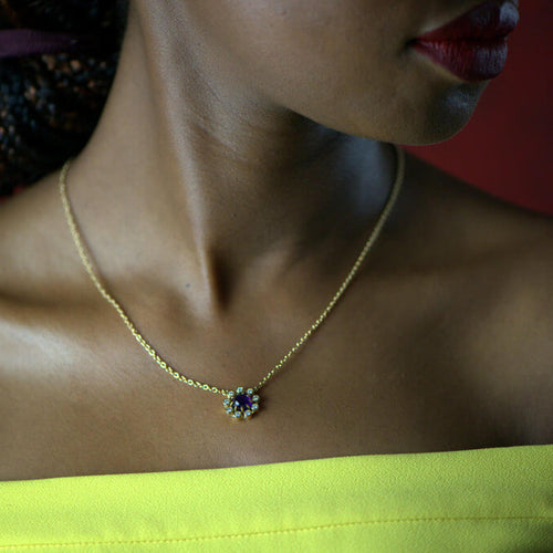 18kt Yellow Gold Maternity Star Pendant ,[product vendor],JewelStreet