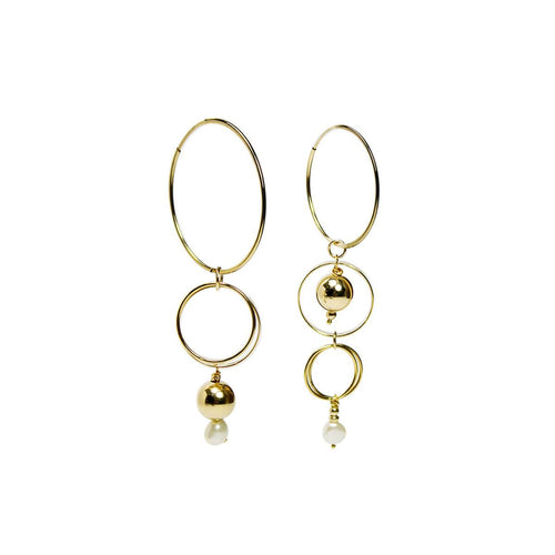 14kt Yellow Gold Filled Melanie Drop Earrings