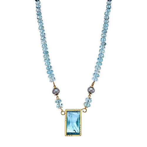 Ionian Blue Necklace