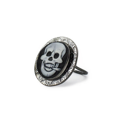 Rocker Cameo Ring