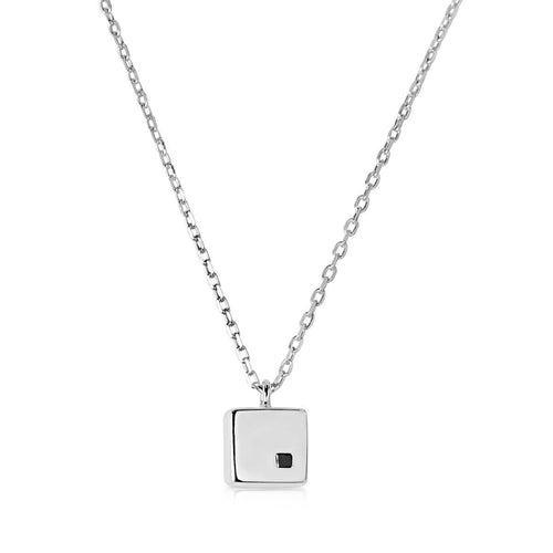 Cubic White Necklace