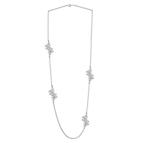 Sterling Silver Tephra Necklace