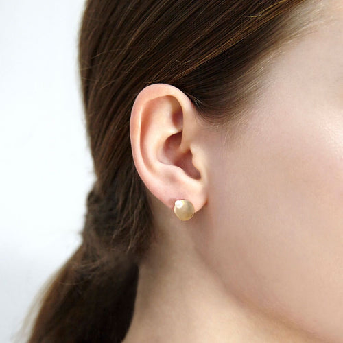 14kt Yellow Gold Filled Sterling Silver Vincent Studs