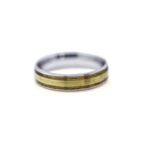 White & Yellow Gold Engagement & Wedding Band Set ,[product vendor],JewelStreet