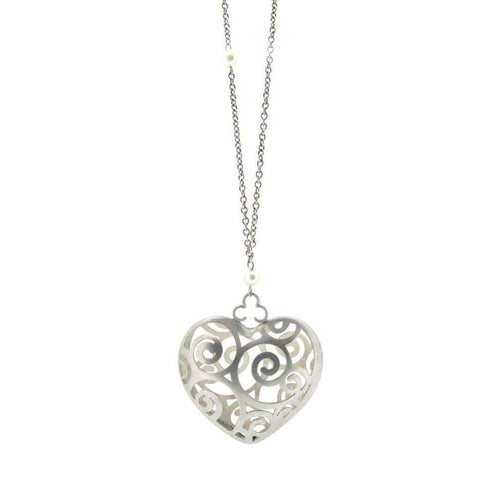 Alice's Tumble Heart Necklace-Sian Bostwick Jewellery-JewelStreet US