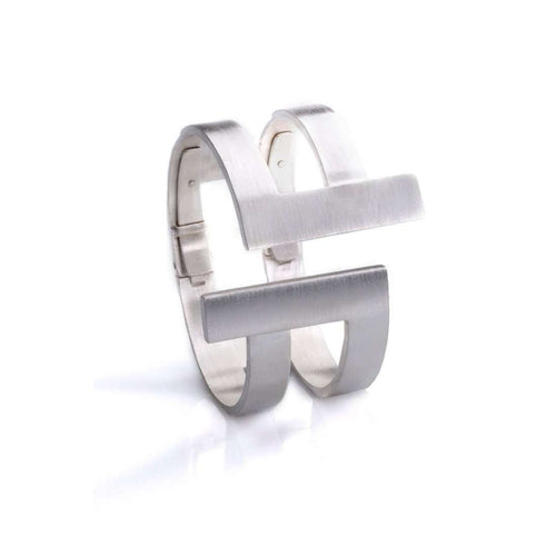 Antithesis Twin Statement Cuff-Polina Sapouna Ellis-JewelStreet US