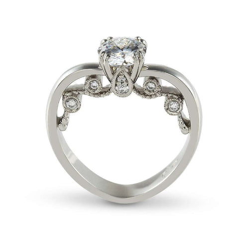 Audrey Engagement Ring-Affianced Jewellery-JewelStreet US