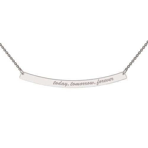 Bold Curve Necklace-me.mi-JewelStreet US