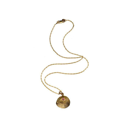18kt Yellow Gold Bittersweet Necklace-Xanthe Marina-JewelStreet US