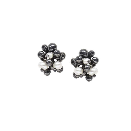Blossom Stud Earrings-Yen Jewellery-JewelStreet US