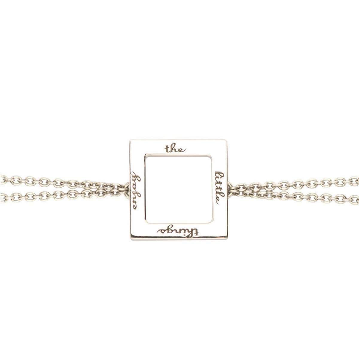 Enjoy the Little Things Chain Bracelet-Ongkara-JewelStreet US