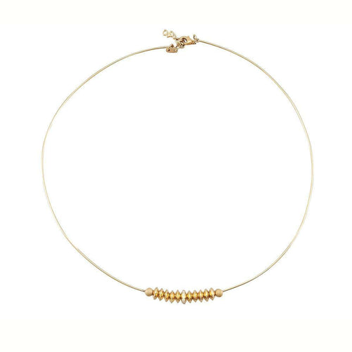 Gold Serengeti Necklace-Betty Balaba-JewelStreet US