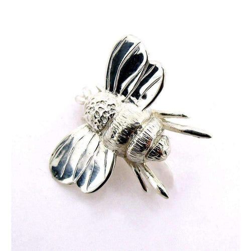 Silver Bumble Bee Bracelet-Bracelets-Will Bishop-JewelStreet