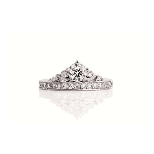 Crown Engagement Ring-Catherine Budd Jewellery-JewelStreet US