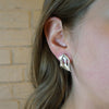 Sterling Silver Caverns Earrings