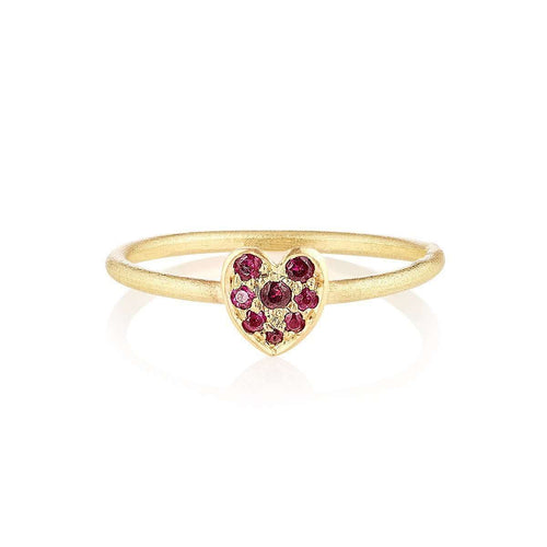18kt Fairtrade Cherish Ruby Ring-Shakti Ellenwood-JewelStreet US